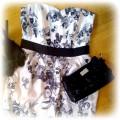 HM sukienka i szpilki