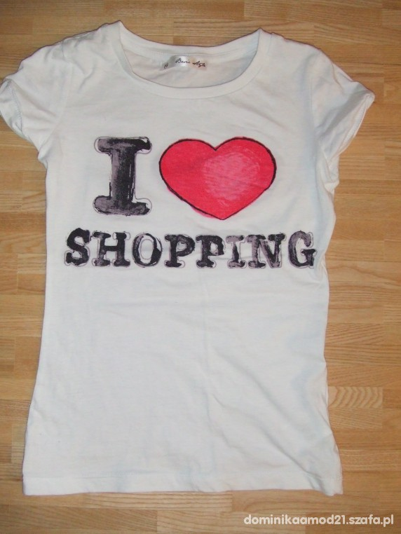 T-shirt dla zakupocholiczki