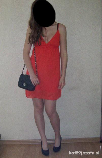 Mój styl red dress