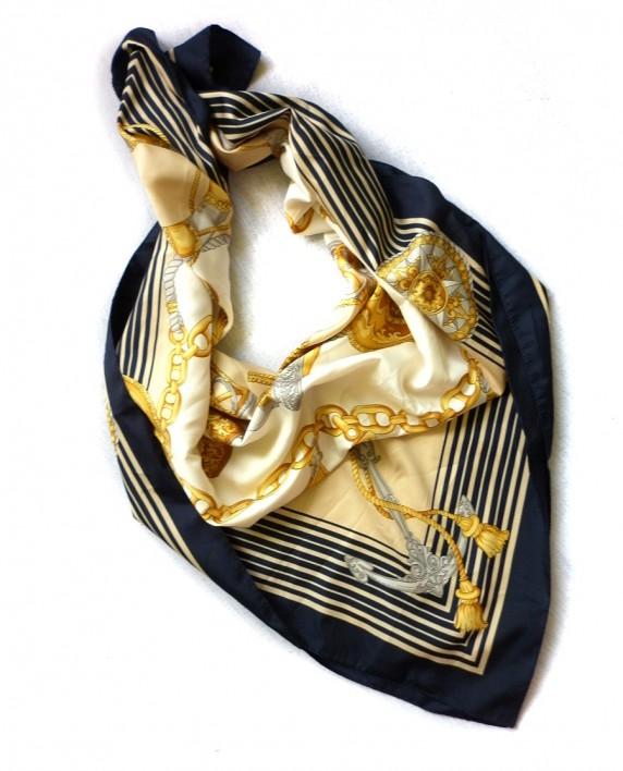 Chusty i apaszki Marynarska chusta apaszka