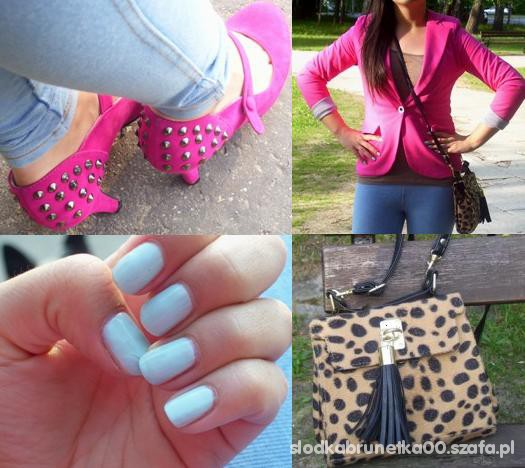 Mój styl leopard and pink