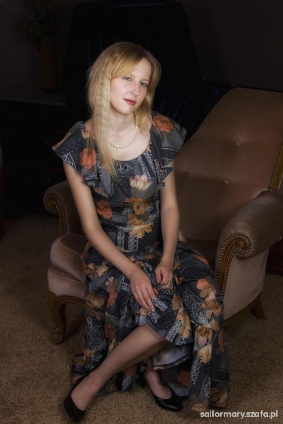 Vintage Sukienka mojej babci