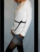 ażurowy sweterek retro vintage...