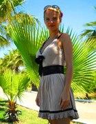 Sukienka plażowa NUDE z kokardką...