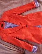 Pomarańczowa marynarka cudo