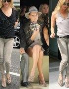 Wężowe buty Kate Moss