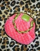 Juicy Couture portfelik brelok CUDOWNY