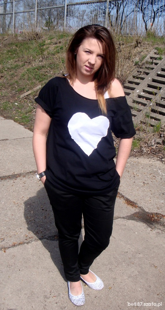 Mój styl białe serce