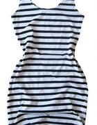Marynarska sukienka dopasowana tuba H and M