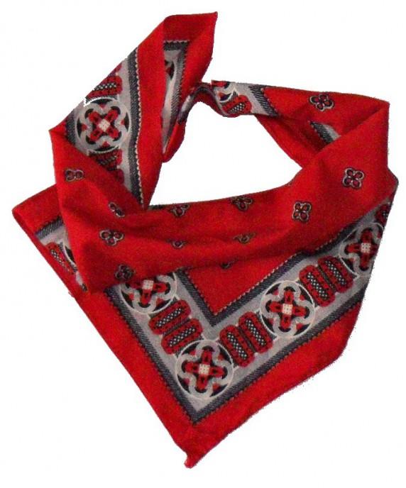 Chusty i apaszki Apaszka czerwona