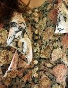 floral topshop falbany oversize tunika