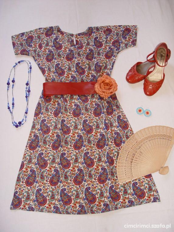 Mój styl orientalna tunika