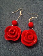 Kolczyki róże
