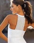 Biały topik Victorias Secret