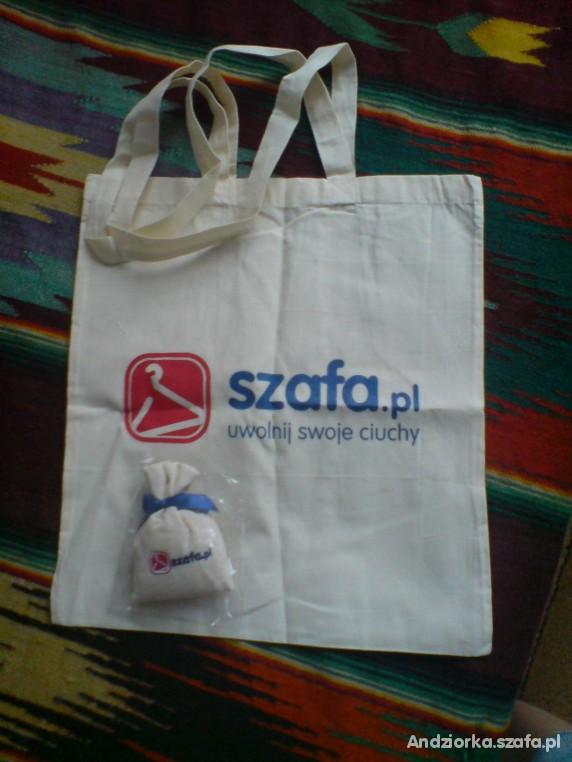 szafowa torba z woreczkiem zapachowym