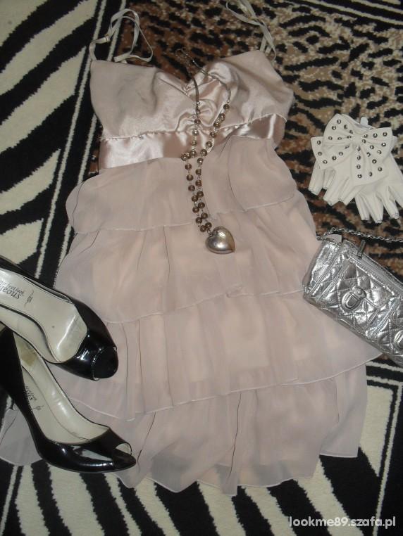 Romantyczne romantyczna sukienka