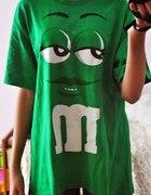 EMEMENSY świetna zielona koszulka SKATE