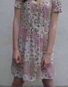 MUST HAVE sukienka FLORAL VINTAGE