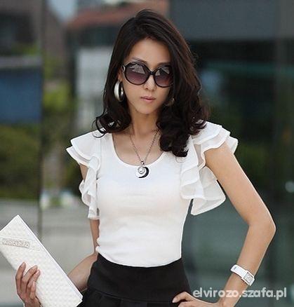 Bluzki Poszukuję podobnej bluzeczki w kolorze ecru