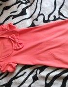 sukieneczka pastelowo pomaranczowa...