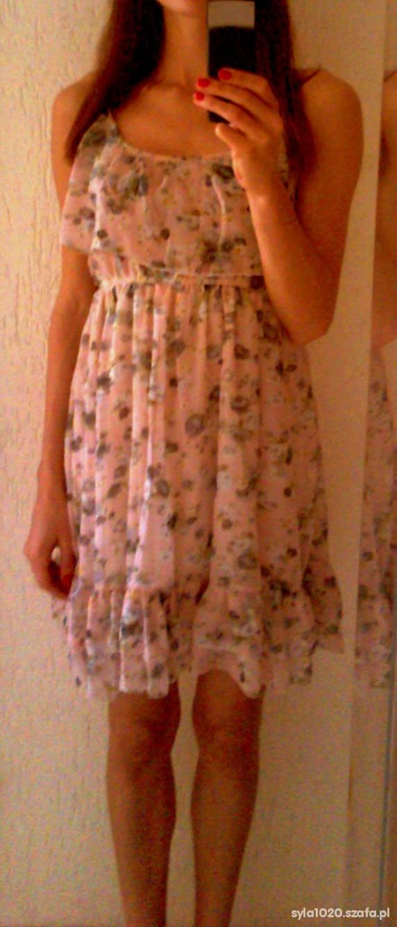 Romantyczne Zwiewna sukienka