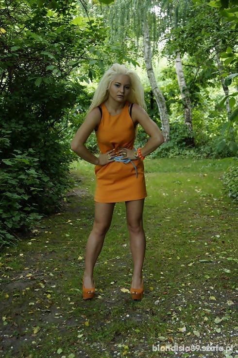 Mój styl w kolorze Orange