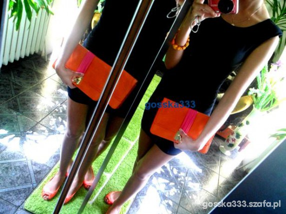 Mój styl Black an Orange