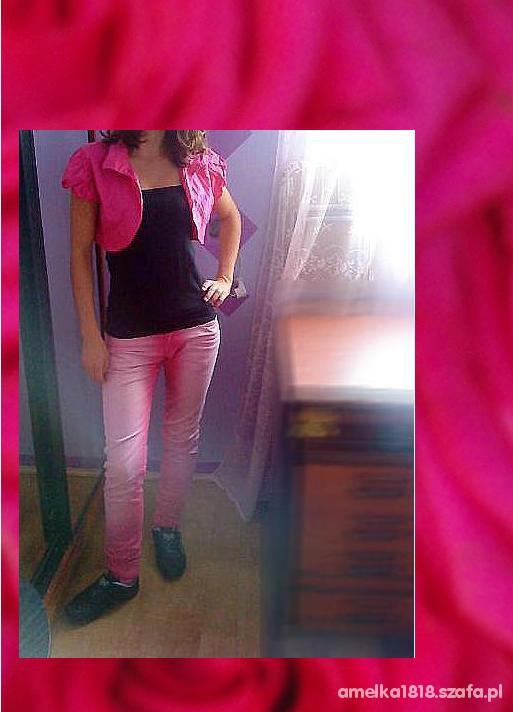Mój styl black and pink