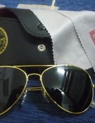 okulary ray ban aviator rozm M