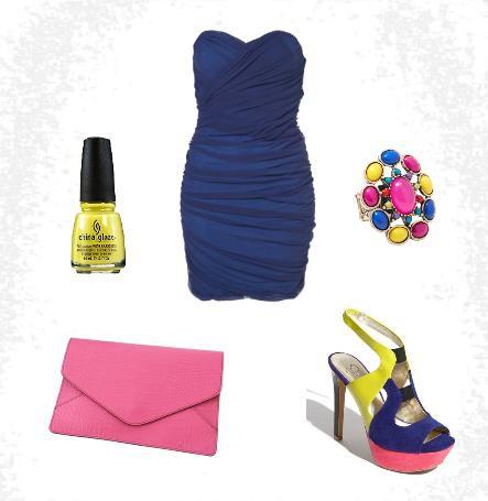 Mój styl Neonowa elegancja