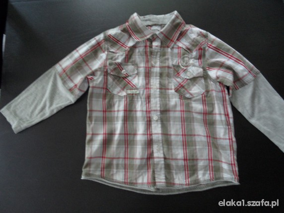 Koszulki, podkoszulki 110 w kratkę