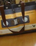 Torba kaseta w stylu vintage retro HIT