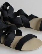 Sandały gumki 40