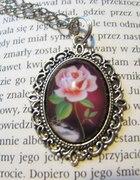 kamea róża vintage retro lolita gothic róż