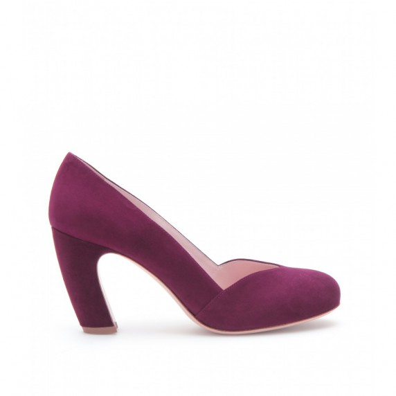Miu Miu suede pumps...