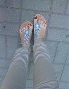 Moje sandałki...