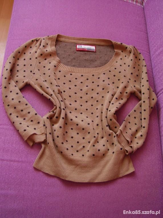 BERSHKA bluzeczko sweterek...
