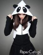 Papercats bluza panda z uszami