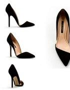 Asymetryczne szpilki Zara
