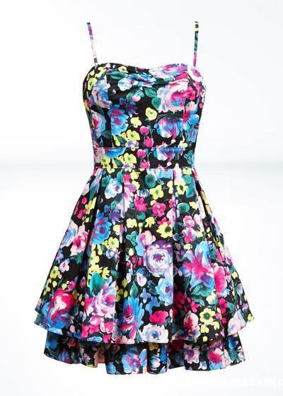 f30a97a97b sukienka HM floral kwiaty pudrowy roz M 38 w Suknie i sukienki ...