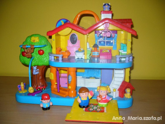 Zabawki odkrywczy domek Kiddieland