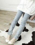 jeansy marmurki
