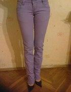 Fioletowe spodnie rozmiar 36