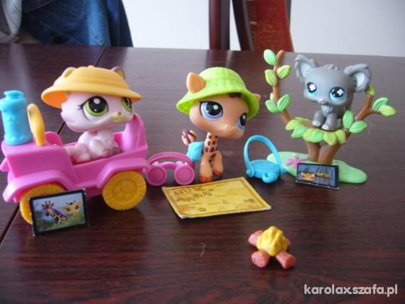 Zabawki Littlest Pet Shop zestaw 3
