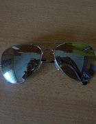 okulary lustrzanki aviator ray ban wayfarer