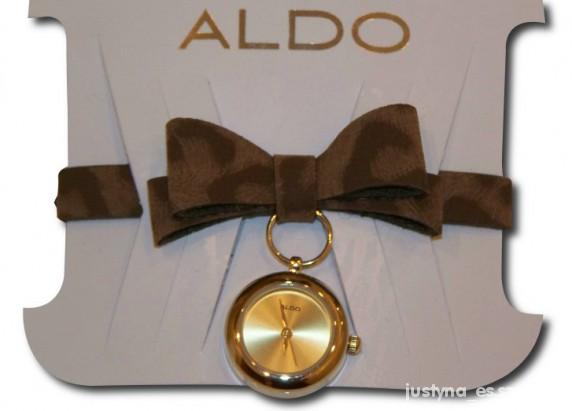 Panterkowy zegarek z kokardką ALDO...