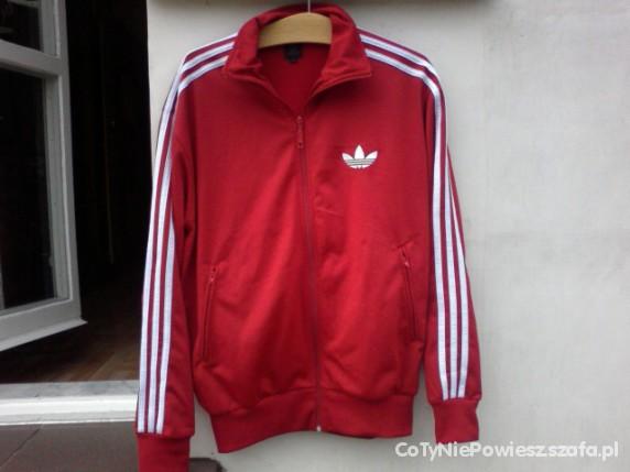 Bluza adidas czerwona w Bluzy Szafa.pl