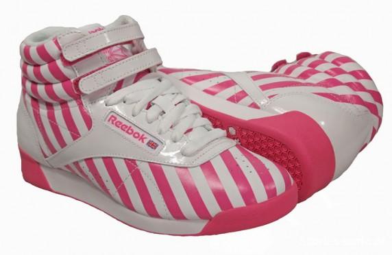 Pink Reebok...