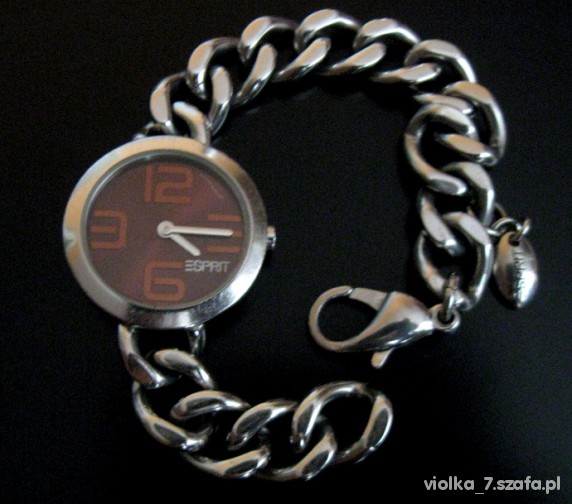 zegarek esprit na bransolecie