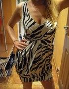 sexi sukienka zeberka NEW LOOK